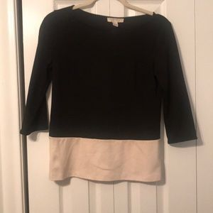 Forever 21 Tops - Colorblock 3/4 Sleeve Shirt
